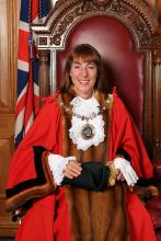 Mayor Councillor Caroline Stock