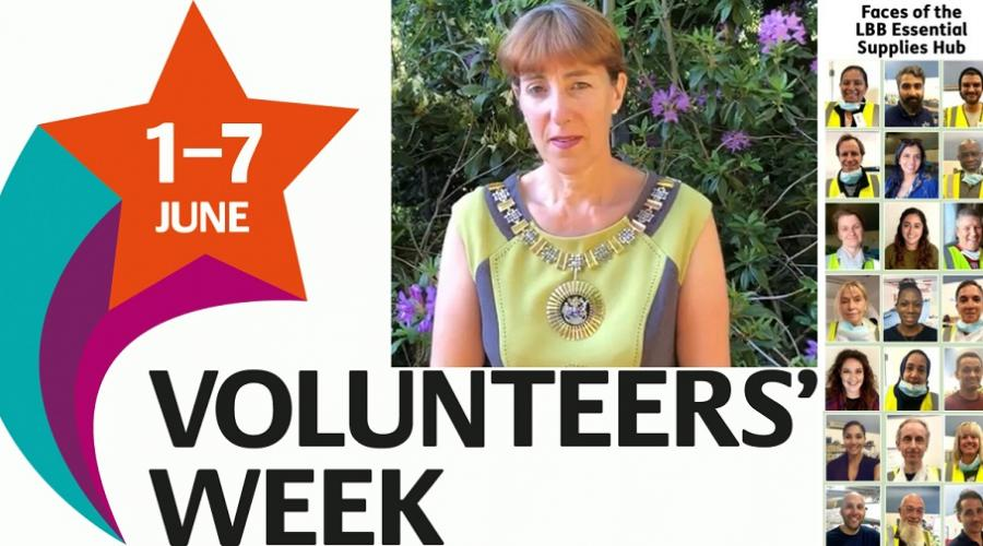 Thank you to all our volunteers, from the Worshipful Mayor of Barnet, Cllr Caroline Stock