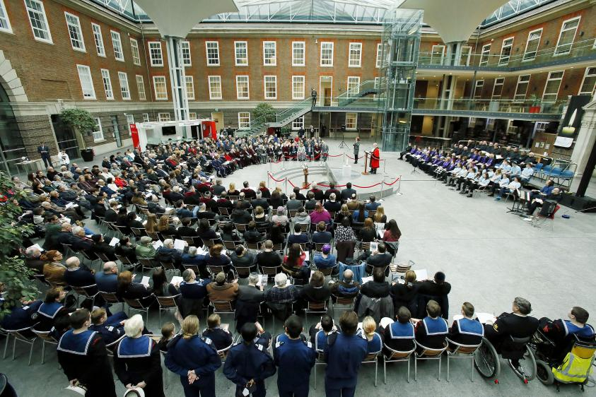 image of holocaust memorial day 2019 at middlesex university