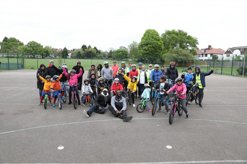 •	Wheelio - which will feature in the Together, we are Barnet campaign - helps people socialise and stay healthy through free cycling sessions in Basing Hill Park, Childs Hill, from 12noon to 2pm every Saturday.