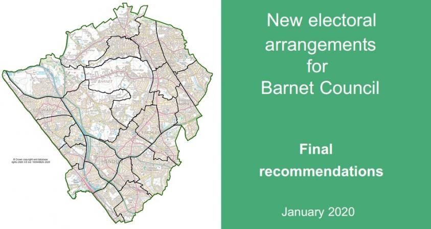 A map of the new ward boundaries