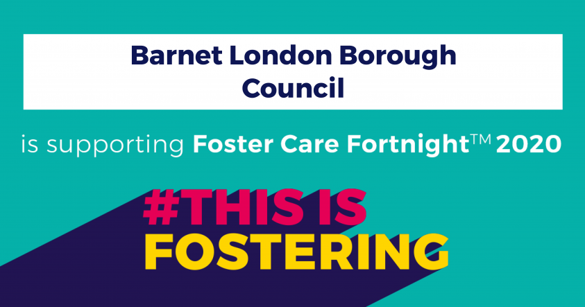 Barnet Council is supporting Foster Care Fortnight