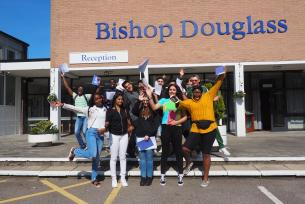 /Pupils%20from%20Bishop%20Douglass%20celebrate